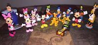 Big Lot 16 Disney's Mickey Minnie Mouse & Friends Figures Donald Duck Goofy ECT