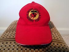 US Marine Corps Baseball Cap/Trucker Hat (Red, Adjustable)