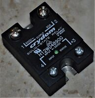 Crydom H12WD4890G Solid State Power Relay 4-32 VDC INPUT 600V 90 AMPS WITH LED