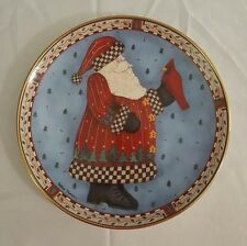 Royal Doulton A Christmas Greeting Plate  Debbie Mumm Limited Edition Decorative