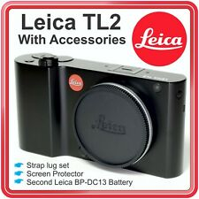 Leica TL2 Mirrorless Digital Camera W Extra Battery & More ~ Excellent Condition