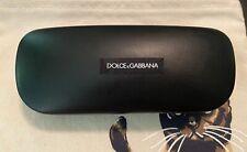 New Dolce & Gabbana Sunglasses Case Black Hard Clamshell