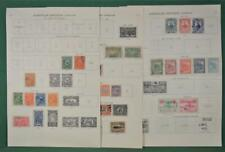 DOMINICAN REPUBLIC STAMPS SELECTION ON 9 ALBUM PAGES  (J128)