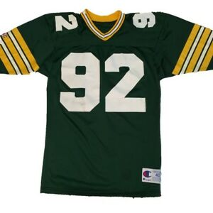 Vintage Packers Reggie White Jersey # 92 Green Bay Champion Size 40