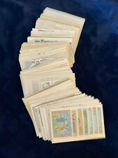 Stamps collectable, foreign & U.S. 100(+) glassine envelopes **LOW Starting bid!