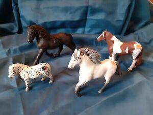 4 Tiptoi Pferde  Andalusier Friese Pony Pinto
