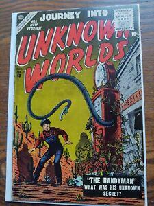 Journey into Unknown Worlds (1956) #48 fine plus condition