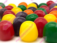 Sweets Assorted Fruit Sours Old Fashioned Chewy Fruity Sour Candy Choose Size!