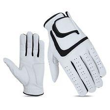 3 x JL Golf 100% cabretta leather gloves Size MEDIUM  Mens Excellent grip