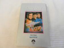 Star Trek The Collector's Edition VHS: Elaan Of Troyius / Spectre Of The Gun