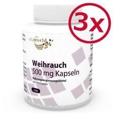 3 Pack Boswellia serrata extract 500mg 360 Capsules + B Vitamins Vita World