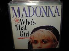 "MADONNA who's that girl ( pop ) 7""/45 picture sleeve"