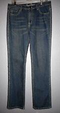 Daniel FLEUR DE LIS Boot Cut Jeans JUNIOR WOMEN'S SIZE 13/14  NWT