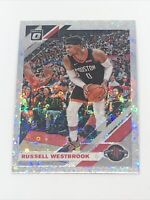 2019-20 Panini Donruss Optic RUSSELL WESTBROOK Disco Holo #58 Houston Rockets