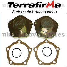 LAND ROVER DISCOVERY 300TDI HEAVY DUTY DRIVE FLANGES 24 SPLINE (PAIR) TERRAFIRMA