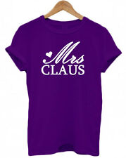 MRS CLAUS, Father Christmas, Wife, Present tumblr Secret Santa unisex T Shirt