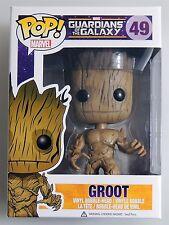ESZ668. GROOT POP MARVEL Guardians of the Galaxy Vinyl FIGURE #49 FUNKO