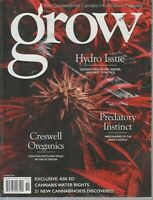Grow Quintessential Cannabis Horticulture Magazine Hydro 2018