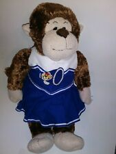 "Build A Bear Cheerleader Monkey 18"" Plush Stuffed Animal"