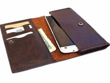 Genuine Leather Case for Samsung Galaxy Note 2 3 Wallet Handmade Universal Slim