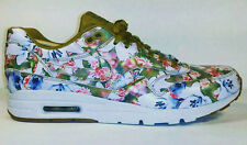 NIKE Womens Air Max 1 Ultra City MILAN Floral Gold - Size 10w