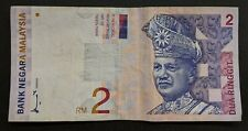 Malaysia 2 Ringgit Used Banknote