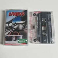 EXODUS IMPACT IS IMMINENT CASSETTE TAPE CAPITOL UK 1990