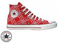 Converse Chuck Taylor All Star Hi Top unisex canvas trainers A Grade no defects