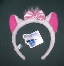 Disney Marie the Cat Character Headband with ears and pink bow Halloween costume
