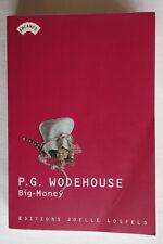 Big-Money - P.G. Wodehouse - Éditions Joelle Losfeld - TBE