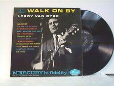 """LEROY VAN DYKE """"WALK ON BY"""" LP"""