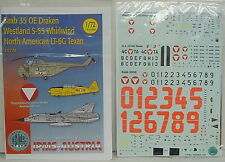 Saab 35 OE Draken,Whirlwind,Texan, Österreich, Austria, IPMS, 1:72, Decal, NEU