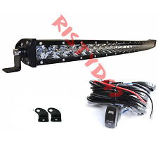 Led Light Bar Curved 31 Single Row Combo Off Road Driving Lamp Atv 4x4 4wd Boat