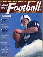 1972 Street & Smith's, College Football YB magazine,John Hufnagel, Penn St. ~ Gd