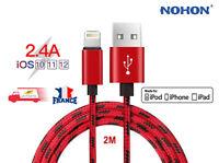 Câble Chargeur USB Rapide Apple iPhone 6/6S/7/8/Plus/X/SE/5 XR XS Max iPad DATA