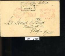BM2138, Syrien, 1934, Vaduz - Allepo (Syrie), Bedarfsbrief (mit Retoure)