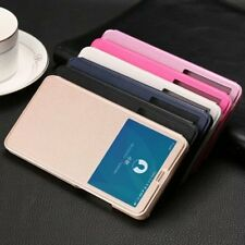 NEW-Quick Window View Flip Smart PU Leather Case For Xiaomi Mi Max 3 Stand Cover