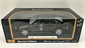 Maisto Special Edition 31673 1/18 Scale 2004 Chevy Impala SS Diecast Car Replica