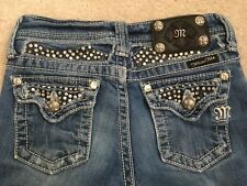 Miss Me Cuffed Capri Jeans Girls Size 10