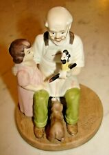 Sterling Treasury The Toy Maker By Norman Rockwell, Replica, Limited Edition
