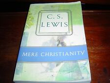 MERE CHRISTIANITY by C S LEWIS (1996) WELL-BOUND, VERY READABLE COPY