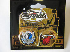 2006 NBA Finals Dueling Pin - Miami Heat vs. Dallas Mavericks
