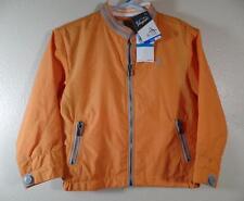New Boy's $48 Orange & Gray Lined Full Zip ORIGINAL PENGUIN Jacket Sz 24 Months