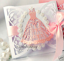 NEW ✿ Lace Flourish Dress Gown Die ✿ For Cuttlebug & Sizzix ✿