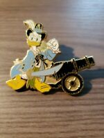 DISNEY PIN PIRATES OF THE CARIBBEAN TOKYO RESORT DONALD DUCK CANNON
