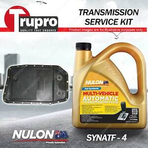 SYNATF Transmission Oil + Filter Service Kit for Ford Falcon BA BF Territory SY