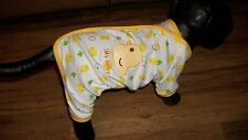 "dog pajamas/jumpsuit,cotton, ""My baby"" duck, Small (**read details for size!)"