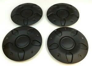 "2015-2020 Ford Transit set of 4 black center 16"" Wheel Cover Hub Cap Kit OEM"