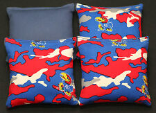 University of Kansas Jayhawks Cornhole Bean Bags 4 Aca Regulation Tailgate Bags