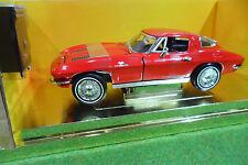 CHEVROLET CORVETTE STING RAY 1963 1/18 AMERICAN MUSCLE ERTL 33175 voiture miniat